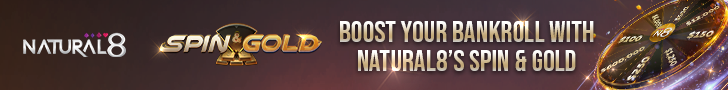 Boost Your Bankroll With Natural8's Spin & Gold