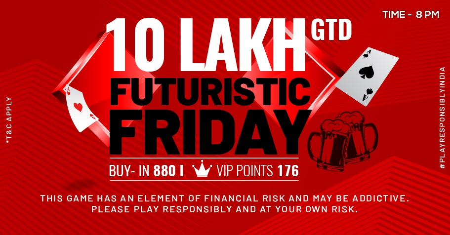 PokerHigh's Futuristic Friday 10 Lakh GTD