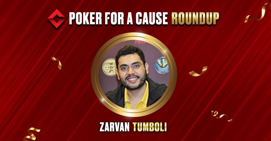 Zarvan Tumboli Ships 'Poker For A Cause' Tournament