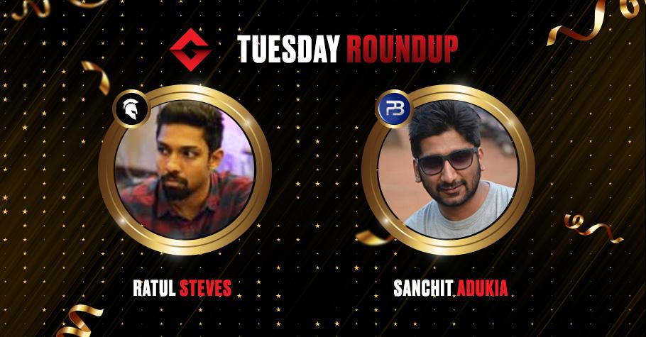 Tuesday Round Up: Ratul Steves & Sanchit Adukia Blaze Their Way To The Top