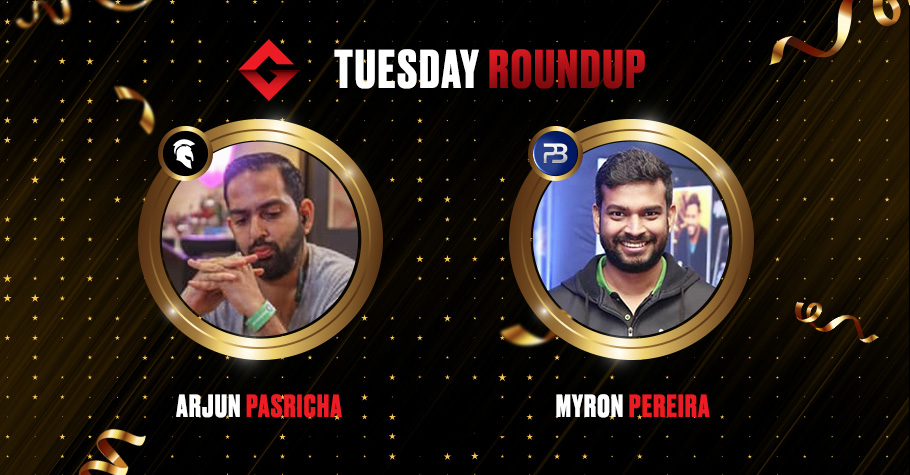 Tuesday Round Up: Pereira And Pasricha Smashed Online Felts To Claim Victory