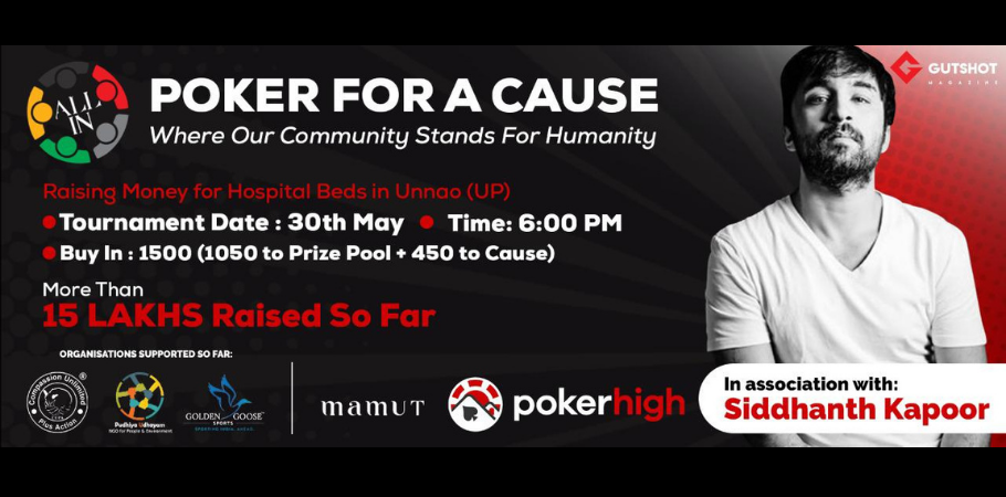 Siddhanth Kapoor To Host 'Poker For A Cause' Tournament On PokerHigh