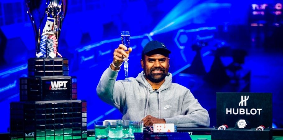 Balakrishna Patur Emerges Victorious in the 2020 World Poker Tour L.A. Poker Classic