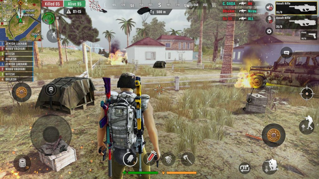5 Best Offline Shooting Games Like PUBG Mobile Lite For 1 GB RAM Android