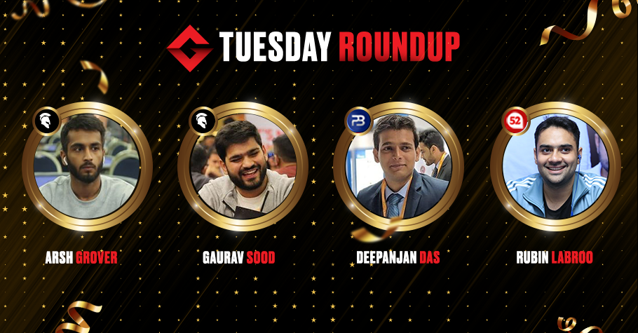 Tuesday Roundup: Arsh Grover, Gaurav Sood, Rubin Labroo Among Others Fought Bravely To Clinch Winning Titles