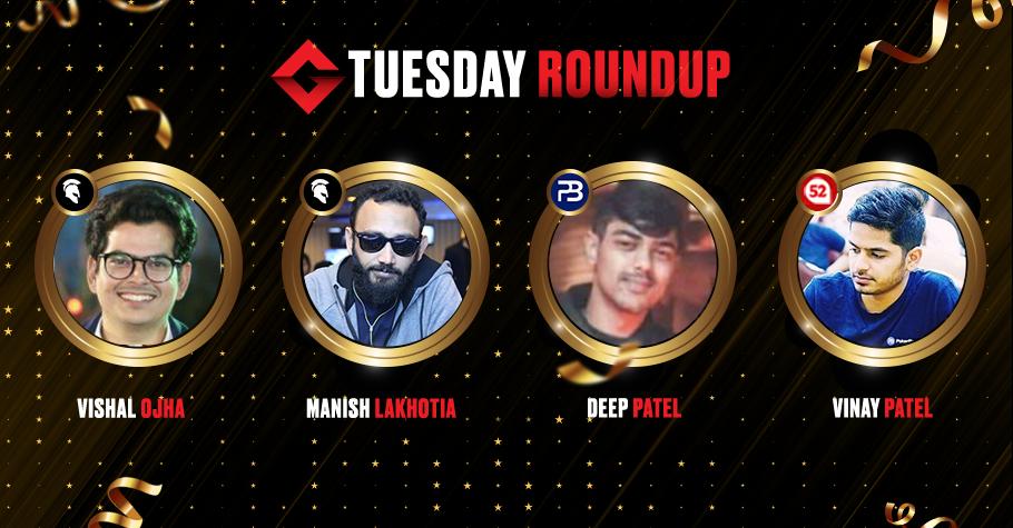 Tuesday Roundup: Manish Lakhotia Nails The Megastack After Tough Battle
