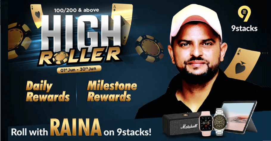 This June, High Rollers & High Rewards Only On 9stacks
