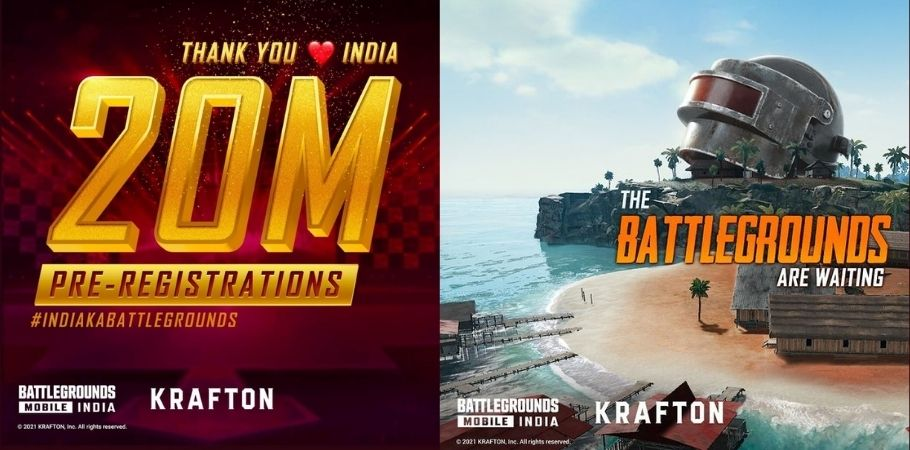 Battlegrounds Mobile India Crosses 20 Million Pre-Registrations