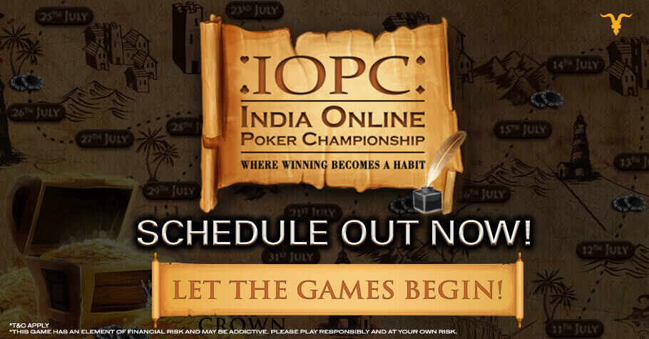 IOPC July 2021: Check Out The Spectacular Schedule Out Now On BLITZPOKER