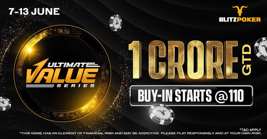 BlitzPoker Is Ready With Ultimate Value Series