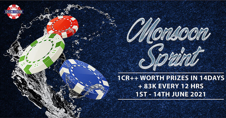 Calling Station's Monsoon Sprint Offers ₹1+ Crore In Prize Pool
