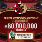 Natural8 To Host Second Online Edition Of The Asia Poker League