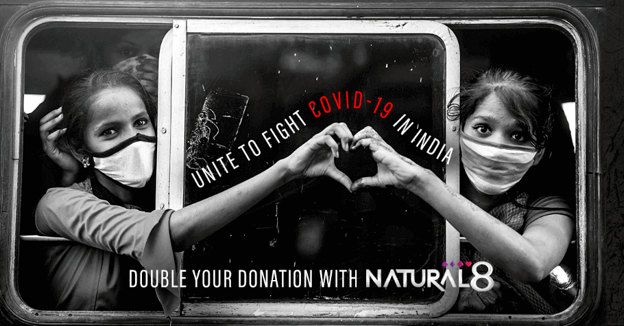 Natural8 Donates $40,000 to Support COVID-19 Response in India