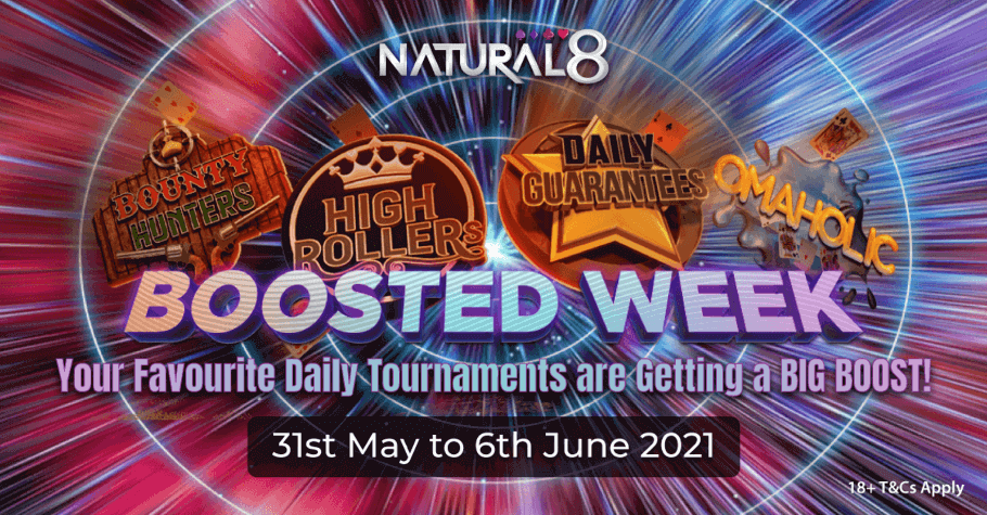 Natural8's Boosted Week