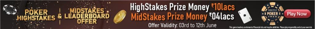 Nostra Poker Highstakes and Midstakes