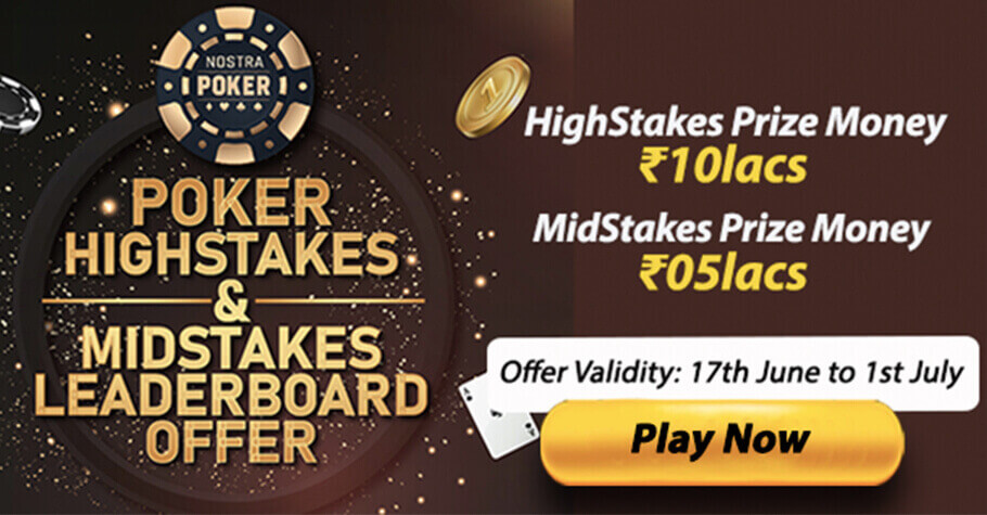 Take Home From A Prize Pool Of 15 Lakh in Leaderboard Prizes Only On NostraPoker