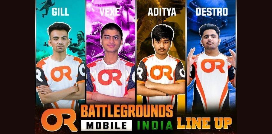 Team Orange Rock Announces Roster For Battlegrounds Mobile India