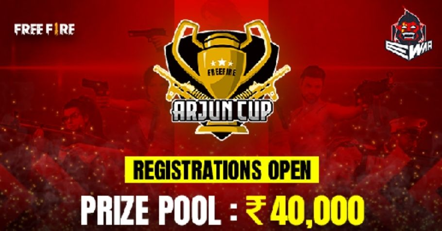 Ewar Games Free Fire 'Arjun Cup' Finals Scheduled On 26th June