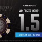 PokerSaint Game Of Thrones Trailer Week 2 Promotion has ₹1.5 Crore On Offer!