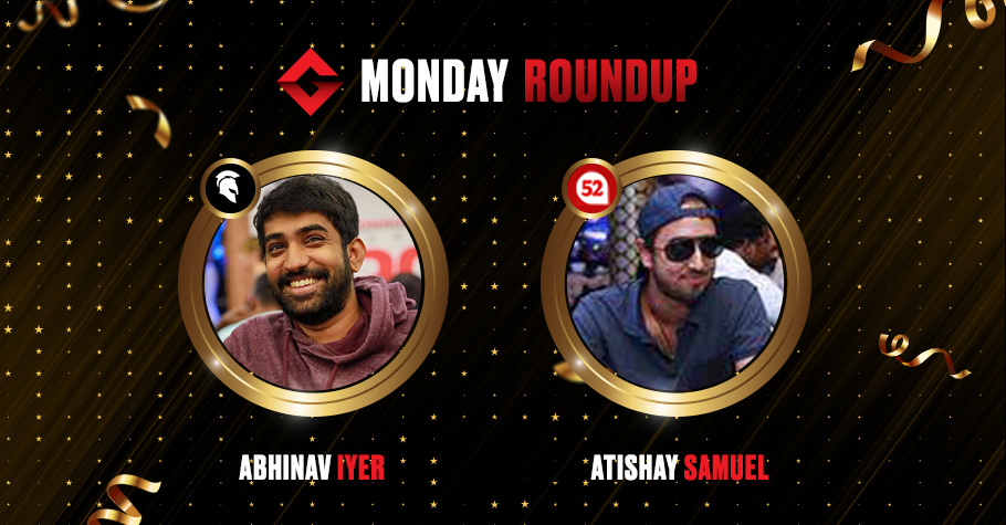Monday Round Up: Iyer, Samuel and 'zomunk' Clinched Winning Titles