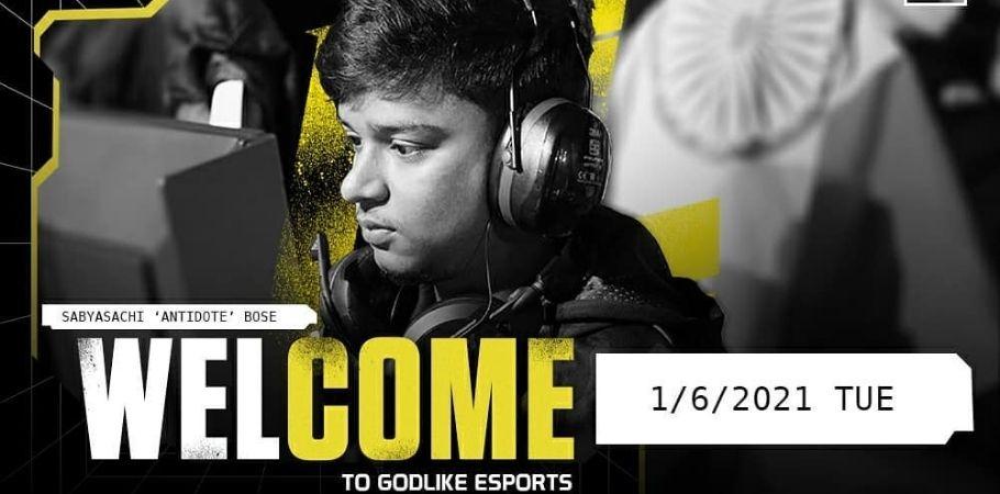 Antidote Joins Valorant Team GodLike Esports