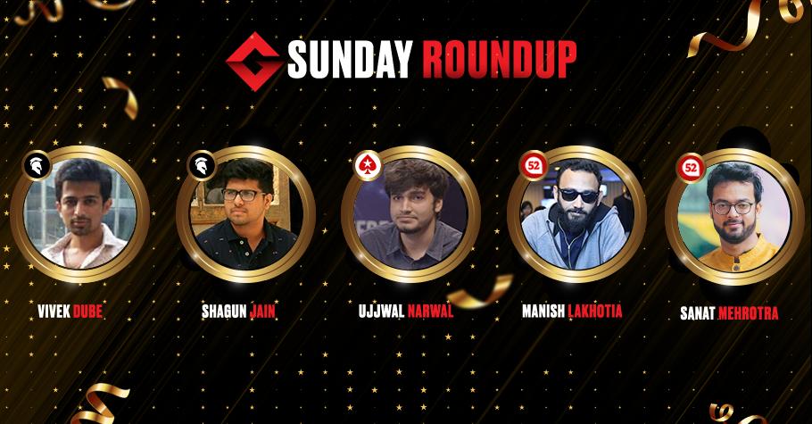Sunday Round Up: Shagun Jain Emerges As The Biggest Winner