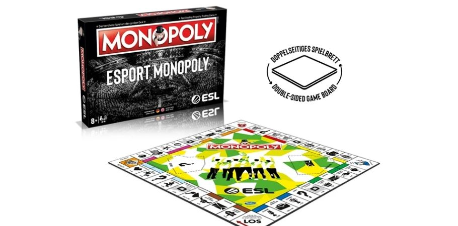 ESL Launches Esports Monopoly Board Game