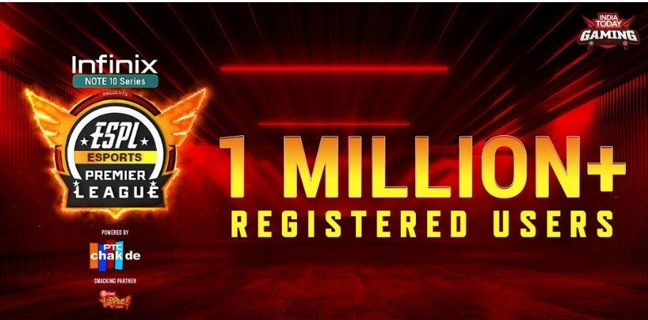 Esports Premier League 2021 Receives 1 Million Registrations