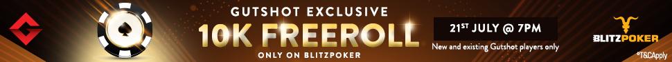 Blitzpoker Gutshot 10K Freeroll July
