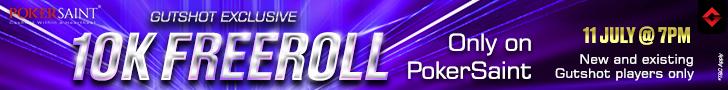 Pokersaint gutshot freeroll July 11