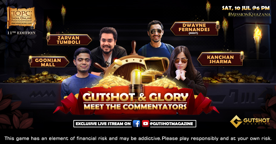 Exclusive 'Gutshot & Glory' Webinar With IOPC Commentators To Take Place Today