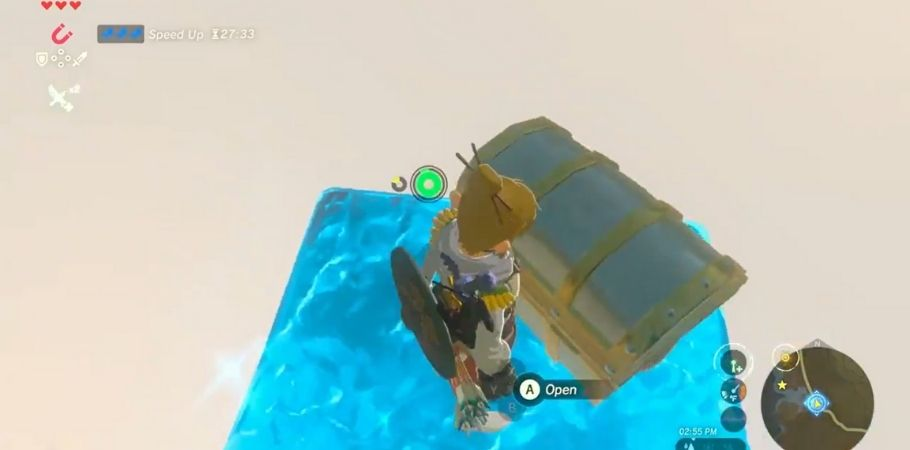 Legends of Zelda: Breath of the Wild: Player Unlocks An Impossible Chest But There's A Twist