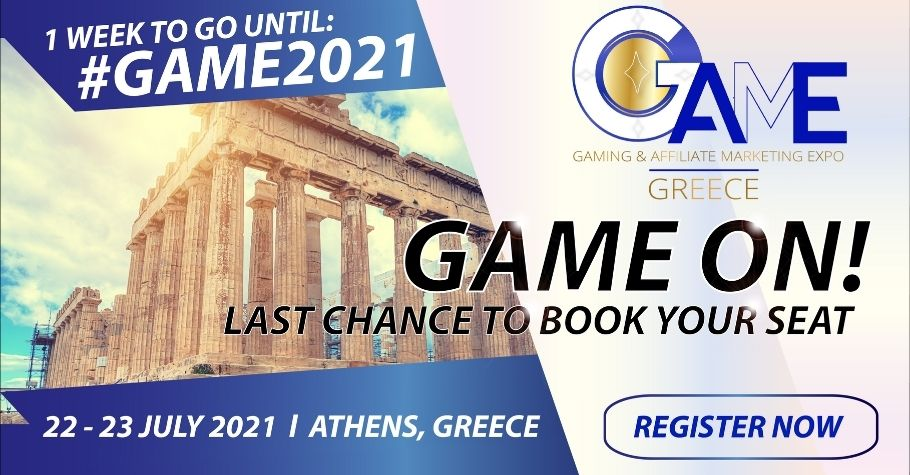 Top Industry Leaders Set To Speak At The GAME Greece 22-23 July in Athens