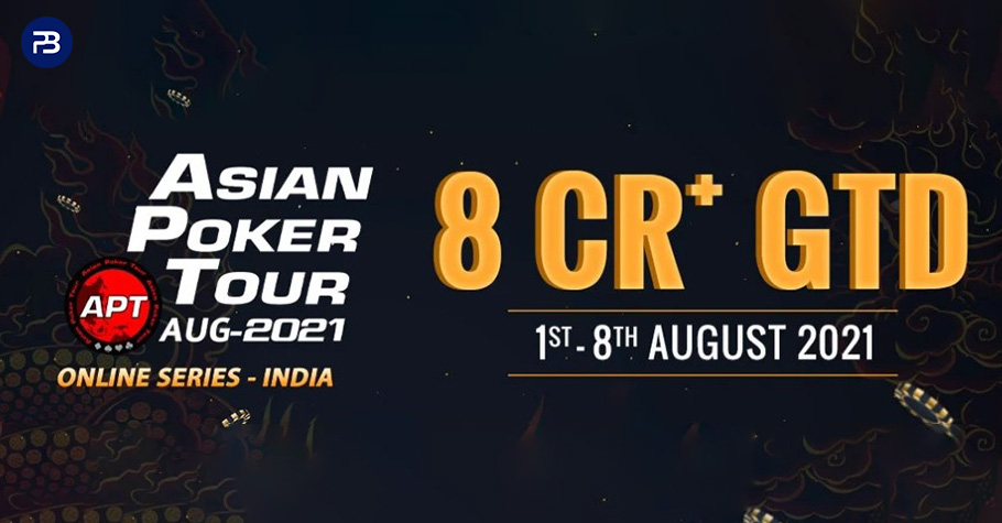 Asian Poker Tour Is Back With An Enormous ₹8 Crore Guarantee