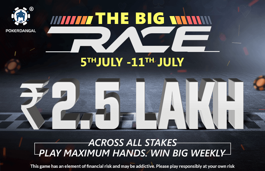 PokerDangal's The Big Race Promotion Is Worth The Run