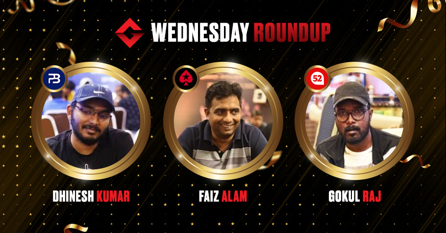 Wednesday Roundup: Gokul Raj and Dhinesh Kumar Among Others Clinch Top Titles