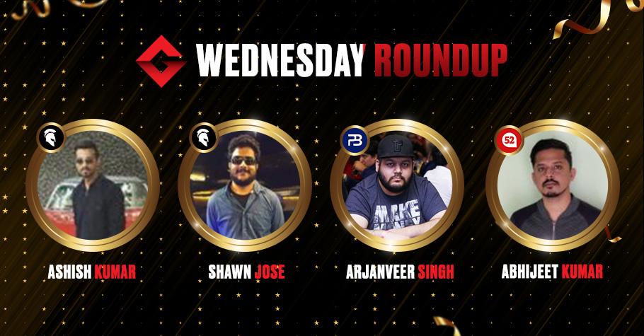 Wednesday Roundup: Ashish Kumar Nails The Biggest Tournament 'Destiny' for ₹5,16,805