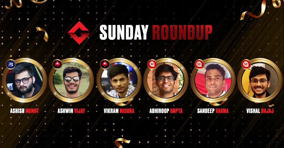 Sunday Round Up: Ashwin Vijay, and Ashish Munot Clinched Top Titles