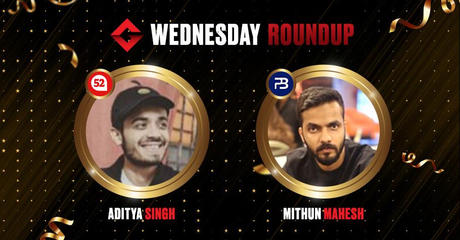 Wednesday Round Up: Mithun Mahesh & Aditya Singh Clinch Winning Titles