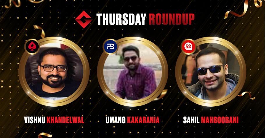 Thursday Round Up: 'LorenzoVonMatterhorn' Nails Monster Stack & Trending Thursday on Spartan Poker For ₹6,33,692