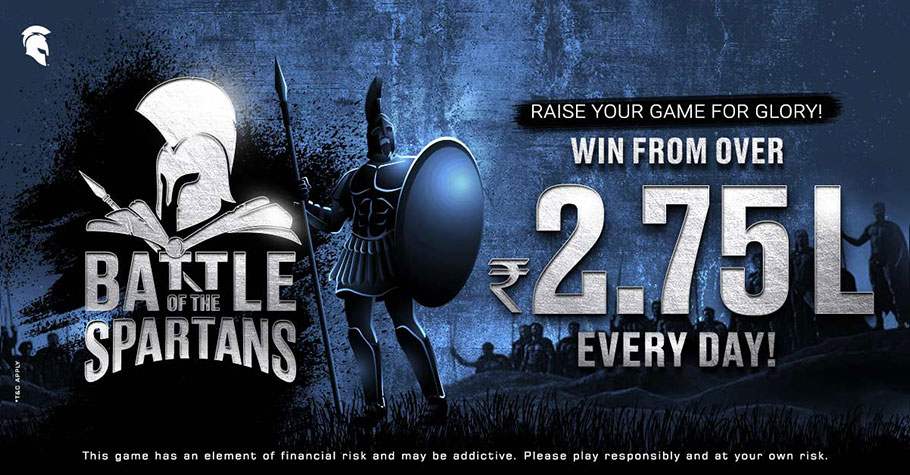 Sweat It Out On Spartan Poker's Intense 'Battle Of The Spartans' Series
