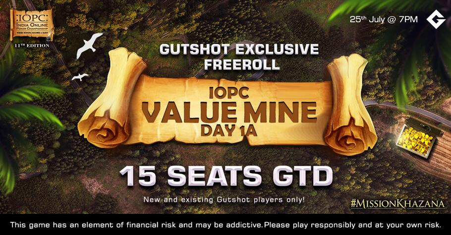 Gutshot's Exclusive Freeroll