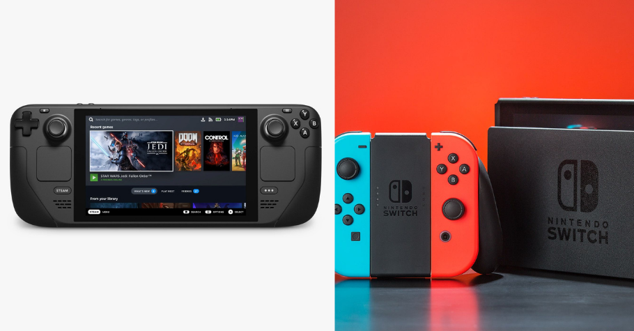 Valve's Steam Deck To Compete With Nintendo Switch