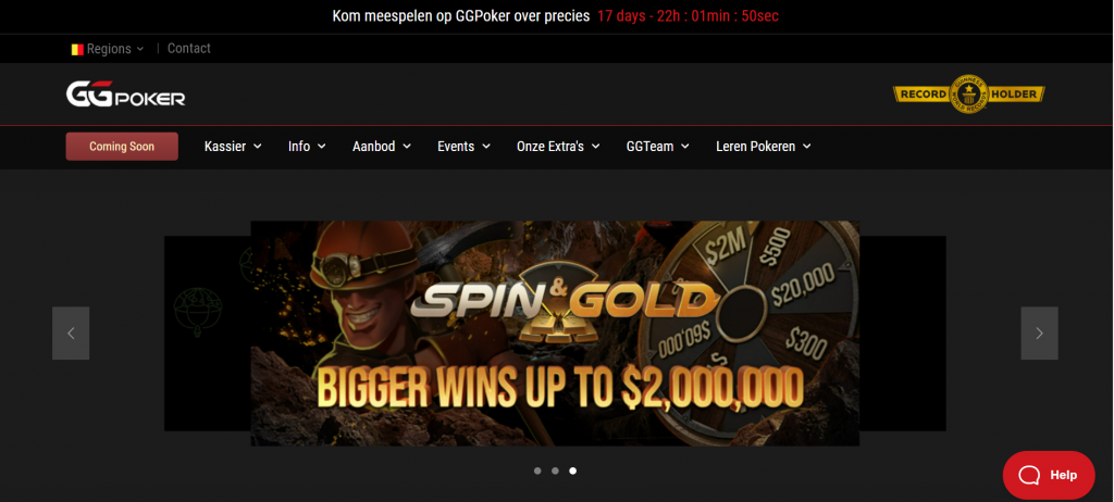 Belgium To Get A Regulated GGPoker Site Very Soon