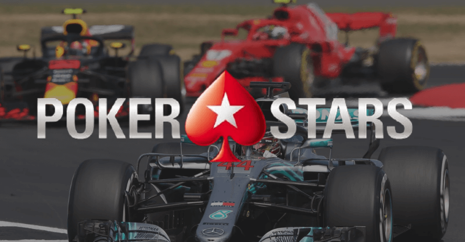 PokerStars Partners With Formula1 As Its Official Betting Sponsor