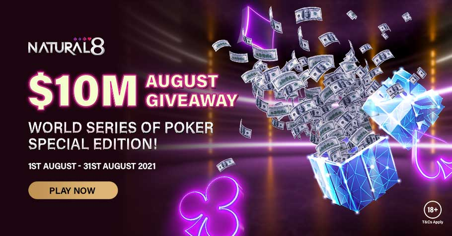 $10M In Prizes Waiting To Be Won On Natural8 On August 2021