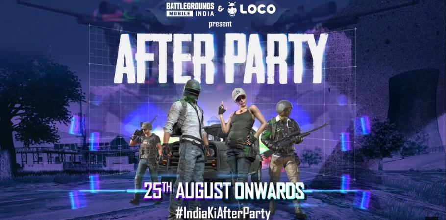 Battlegrounds Mobile India Announces BGMIXLoco After Party
