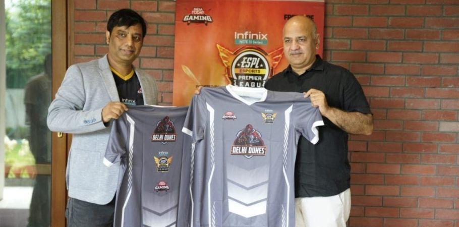 ESPL 2021: Delhi Deputy Chief Minister, Manish Sisodia Unveils Delhi Team