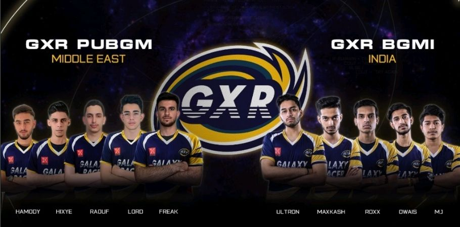 Galaxy Racers Reveal New PUBG Mobile And Battlegrounds Mobile Rosters
