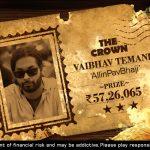 IOPC July 2021: Vaibhav Temani Wins The Crown Main Event